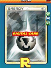 Metal Energy (HGSS) - for Pokemon TCG Online (DIGITAL ptcgo in Game Card)