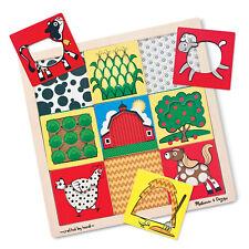 * NEW * Melissa & Doug Peek-Through Puzzle (Farm) (#clarkstc)