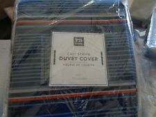 Pottery Barn Teen Cali Stripe twin  duvet  New with tags