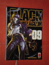 BLACK LAGOON  N° 9 -MANGA nuovo -PANINI +DISPONIBILI 1/10 molti- di -rei hiroe