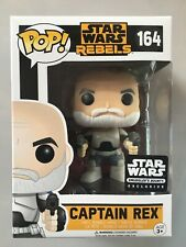 Funko Pop Captain Rex Exclusive. Disney Star Wars Rebels Limited Edition Figure