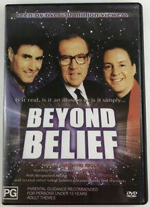 Beyond Belief  with Sir David Frost/Uri Geller DVD All Regions
