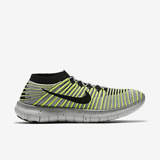 Nike Free RN Motion Flyknit Men's Running Shoes (SZ 10) Grey Volt 834584-007