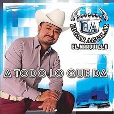 """EDGAR AGUILAR """"EL NARQUILLO"""" - A TODO LO QUE DA (2017 BRAND NEW CD)"""