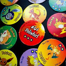 Tazos De 15 Surtidos Milkcaps-Pokemon-Todos diferentes-Ultra Poco común-Pog Shop