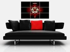 "QLIMAX BORDERLESS MOSAIC TILE WALL POSTER 35""x 25"" HARDSTYLE Q DANCE DEFQON.1"
