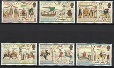 Jersey:1987 Sc#431-36 Mnh Designs in the style of the Bayeux Tapestry je192