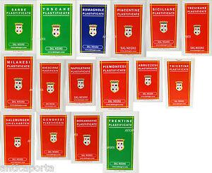 Carte Regionali Dal Negro Originali Romagnole Milanesi Scopa Briscola Bresciane