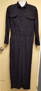 Bulwark FRC Navy Blue Flame Resistant Coveralls CMD6