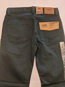 Vans New V56 Standard AV Covina II Pants Youth Boys Size 26/12