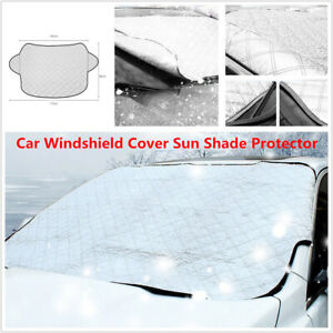1PC Car SUV Windshield Cover Sun Shade Winter Snow Ice Rain Dust Frost Protector