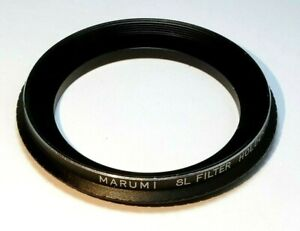 Marumi SL Filter Holder 49mm to 58mm Step-up ring Metal double threaded
