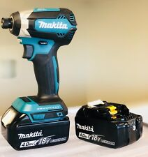 Makita XDT13Z 18-Volt LXT Lithium-ion Brushless Impact Driver + (2) 4.0AH Batts