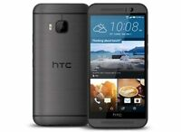 "New HTC One M9 AT&T Unlocked 4G LTE 32GB 5"" Android Smartphone Gunmetal Grey"