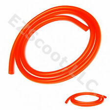 "GAS FUEL LINE HOSE RED 39"" 2X CLAMPS GY6 SCOOTER ATV QUAD JET SKI TANK VIP VENTO"