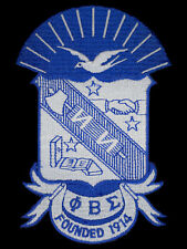 Phi Beta Sigma Crest Patch FREE SHIPPING!!!