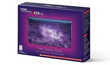 New Nintendo 3DS XL System - GALAXY STYLE [NN3DS XL, NTSC, Handheld Console] NEW
