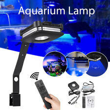 4 Channel LED Aquarium Fish Tank Light Coral Reef Saltwater Lamp Clip + Remote