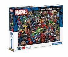 MARVEL - 80th Anniversary - Impossible Puzzle - 1000 Teile - Neu / OVP