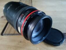 Canon ef 70-210 f4 High Quality Zoom Lens red ring like L series. Very rare!