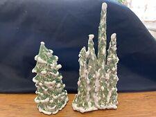 2 Walter Brickman trees for Village
