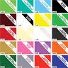 A4 Vinyl Sheet Sign Sticker Wrap Sheets Roll Pro HD Grade 10 Year ALL Colours