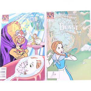 Beauty and The Beast Disney Comics Comic Set