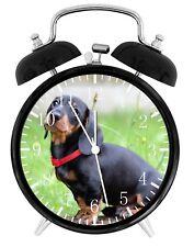 Dachshund Alarm Desk Clock Home or Office Decor F71 Nice Gift