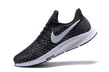 New Nike Women's Air Zoom Pegasus 35 in Black/White-Gunsmoke-Oil Grey Size 8