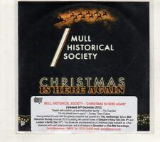 (HT877) Mull Historical Society, Christmas Is Here Again - 2012 DJ CD