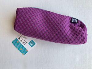 Purple Athletic Mesh Pencil Case Hy Pen And Gear