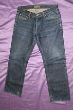 ACNE Jeans Mic Rigid Denim Trousers W34 L30