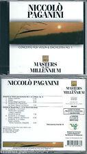 Paganini Concerto For Violin & Orchestra (1999) CD NUOVO Slovanica Philarmonia