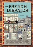 X191 The French Dispatch Movie 2020 Fabric Poster Art 24x36 32x48