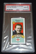 2003 Campioni Di Futuro Wayne Rooney Rookie Card RC PSA 10 Gem Mint POP 1