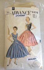 """36/"""" campesino Vintage década de 1940 patrón de costura-Busto Blusa a medida 34/"""""""