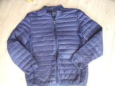 Frederik Anderson Copenhague duvet/plume veste taille L bleu marine