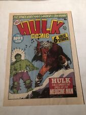 Hulk Comic # 13,1979 Uk -magazine