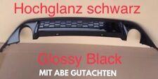 VW Golf 7 Gti Diffusor Gtd Heckdiffusor Heckansatz Stoßstange VII glanz schwarz