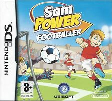 SAM POWER FOOTBALLER for Nintendo DS - with box & manual