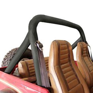 1978-1986 Jeep CJ7 Sport Bar Cover Roll Cage Pad Kit Black Crush