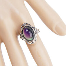 Magic Color Change Mood Ring Emotion Feeling Changeable Adjustable Xmas Gift