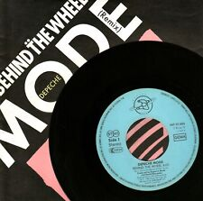 "7"" Depeche Mode – Behind The Wheel / Route 66 / NEW Label // Germany 1987"