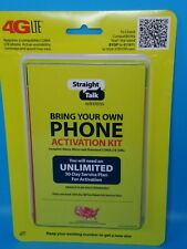 Straight Talk 4G Lte Cdma Bring Your Own Phone Activation Kit Sealed Dual Sim B7