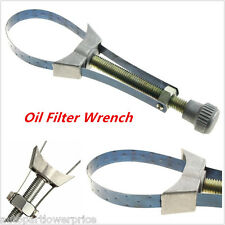 New Oil Filter Strap Wrench Remove Filter 60-120mm Drive Removal Tool Adjustable