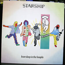 VINYL RECORD ALBUM STARSHIP KNEE DEEP IN THE HOOPLA