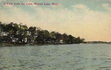 WALLED LAKE 1912 Oakland County MICHIGAN