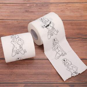 Creative Toilet Paper Rolls Funny Joke Numbers Sexy Girls Bath Bathroom..M!
