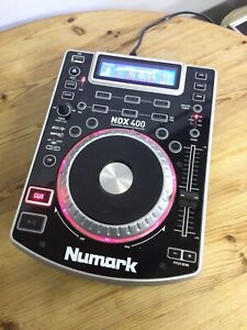 Numark NDX400 Professional Tabletop CD/MP3 Player Good Working Order - (2)