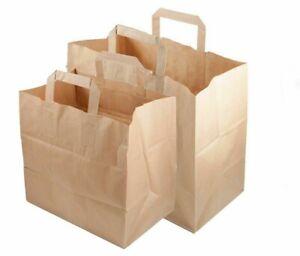 Papiertüten Braun Papiertragetaschen Papier Tüten Tragetaschen Taschen Tüte ⭐⭐